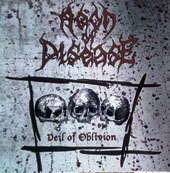"AEON OF DISEASE ""Veil of Oblivion"" CD"