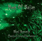 "MASK OF SATAN ""Silent Servants"" CD"
