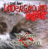 "DISGUST vs. SCARVENGER ""split"" CD"