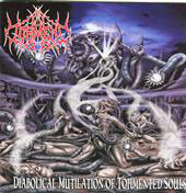 "IN TORMENT ""Diabolical Mutilation of Tormented Souls"" CD"