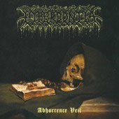 "HYPERDONTIA ""Abhorrence Veil"" 7"" black vinyl EP"