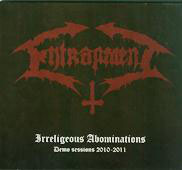 "ENTRAPMENT ""Irreligious Infestations: Demo Sessions 2010-2014"" CD digipak"