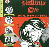"HALLOWS EVE ""Evil Never Dies"" CD"
