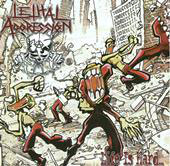 "LETHAL AGGRESSION ""Life Is Hard..."" CD"