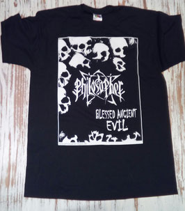 "PHILOSOPHER ""Blessed Ancient Evil"" - T shirt"