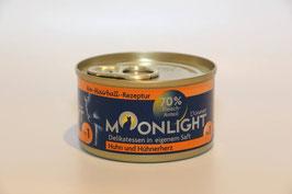 Moonlight-Dinner  Nr. 1 Huhn und Hühnerherz