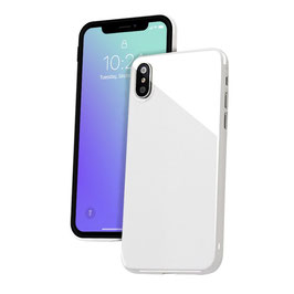 "A&S CASE für iPhone X (5.8"") - White Diamond"