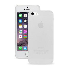 A&S CASE für iPhone 5s/SE, Arktisweiß, 0.35mm