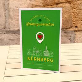 Nürnberg. Unterwegs mit deinen Lieblingsmenschenvon Sabine Peters [Buch]