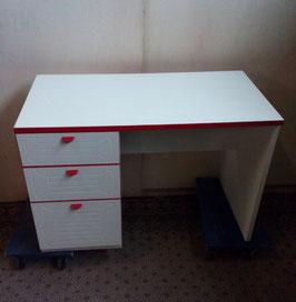 Jaren '70 wit/rood bureau | Art.0113