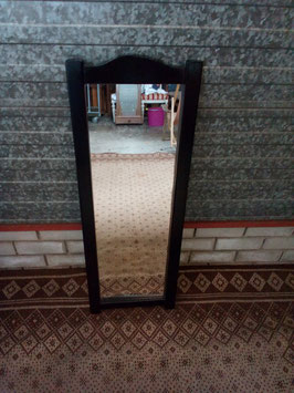 Lange spiegel met zwarte rand | Art.0115