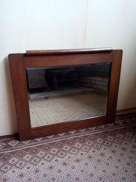 Oud eiken spiegel | Art.0040