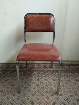 Retro '50 metalen stoel | Art.nr: 0078