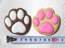 肉球クッキー(同色2枚セット)