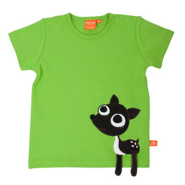 "Lipfish T-Shirt, Motiv ""Reh"" Farbe ""green""4181"