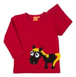 Lipfish LA Shirt Pferd rot