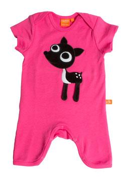 "Lipfish Jumpsuit, KA  Motiv ""Reh"" Farbe ""pink""7016"