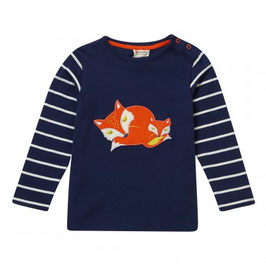 Piccalilly LA Shirt Sleeping Foxes Print