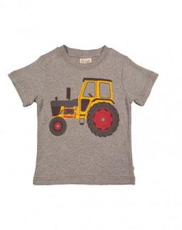 Frugi T-Shirt Traktor Grey