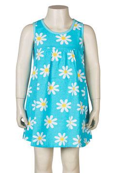 Jny Kleid Blumen blau