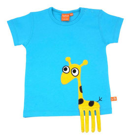 "Lipfish T-Shirt, Motiv ""Giraffe"" Farbe turqoisee"
