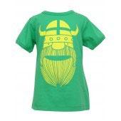 Danefae T-Shirt Erik grün/gelb