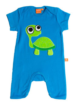 "Lipfish Jumpsuit, KA  Motiv ""turtle"" Farbe ""blue""7019"