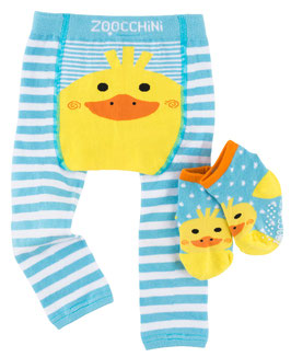 Zoocchini Leggings  Set Ente