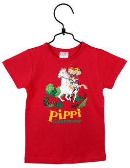 Martinex Pippi Langstrumpf T-Shirt rot