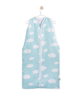 Jollein Schlafsack Wolken jade