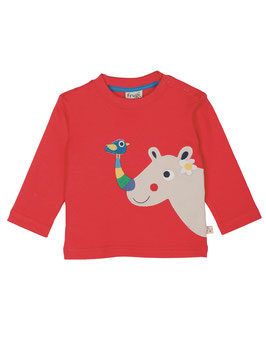Frugi LA Shirt Nashorn rot