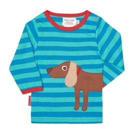 Toby Tiger LA Shirt Dackel blau/türkis