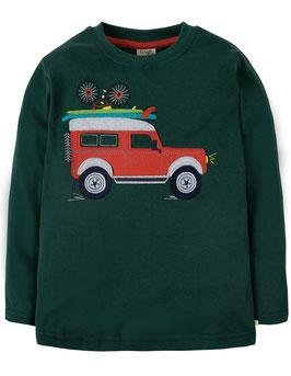 Frugi LA Shirt Safari SUV grün