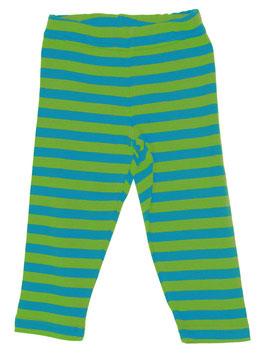 Lipfish Hose Streifen turquoise-green