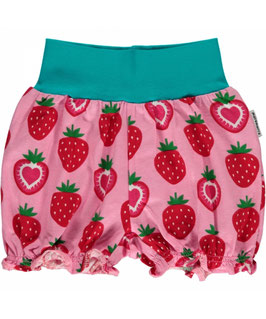 Maxomorra Shorts  Strawberry rosa