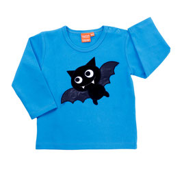 Lipfish LA Shirt Fledermaus blau