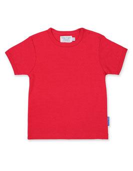 Toby tiger KA Shirt Uni rot