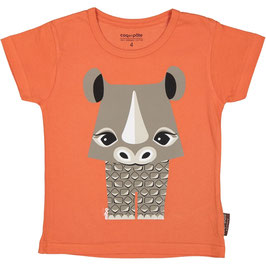 Coq en Pate T-Shirt Mibo Nashorn orange
