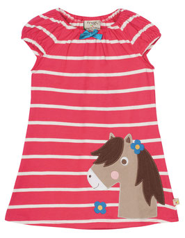Frugi Kleid KA Little Lola Raspberry Pony