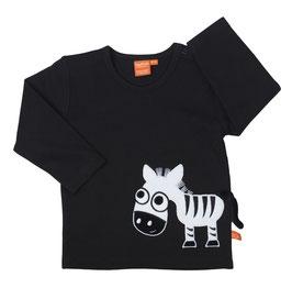 Lipfish LA Shirt Zebra schwarz