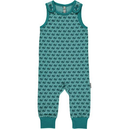 Maxomorra Playsuit Wale blau