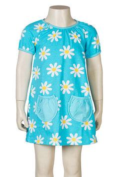 Jny Tunika Blumen blau