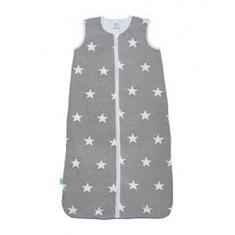 Jollein Schlafsack Sterne grau