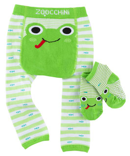 Zoocchini Leggings  Set Frosch