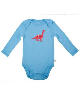 Frugi Body LA Dino hellblau