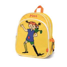 Pippi Langstrumpf Rucksack gelb