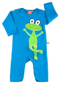 "Lipfish Jumpsuit,LA Motiv ""frog"" Farbe ""blau"" 73760"