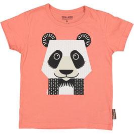 Coq en Pate T-Shirt Mibo Panda rot
