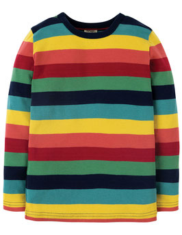 Frugi LA Shirt bunte Streifen