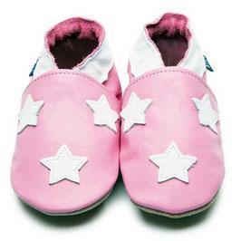 inch-blue Lauflernschuhe Romanie Stars pink/white